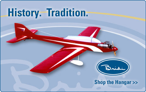 Original Bridi Airplane Kits manufactured exclusively by Bluejay Airplane Kits.